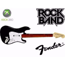 Guitarra Sem Fio Xbox Rock Band Guitar Hero 12 X Sem Juros