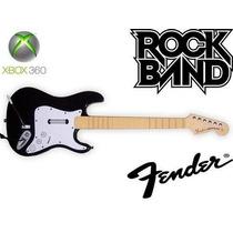 Guitarra 100% Original Fender Xbox 360 Rock Band Guitar Hero