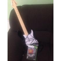Guitarra Band Rock + Jogo Guitar Hero Warriors Rock Orig.
