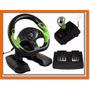 Volante Simulador Dual Shock Xbox 360 E Pc Pro 50