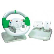 Volante Knup Xbox 360/pc Branco Kp5815