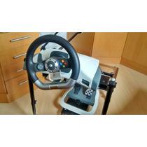 Cockpit Com Volante Xbox Original