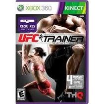 Ufc Trainer Kinect Mídia Física Xbox 360-lacrado