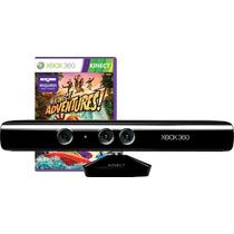 Kinect Sensor Xbox 360 Sensor Novo Original +jogo Adventures