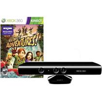 Sensor Kinect Xbox 360 + Jogo Original + Frete Gratis
