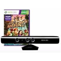 Kinect Para Xbox 360 + Jogo Kinect Adventures