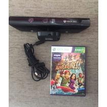Sensor Microsoft Kinect Para Xbox 360 + 1jogo Original Usado