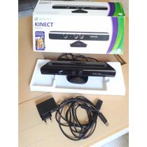 Sensor Kinect Todos Xbox 360 Arcade,slim,super Slim,+ Fonte