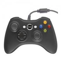 Controle Xbox 360 C/ Fio 2m - Dazz Preto - Azul - Vermelho