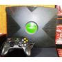 Xbox 1° Geração Com 1 Controle E 3 Jogos Originais Usado