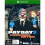 Pay Day 2 Xbox One Crimewave Edition Original Lacrado