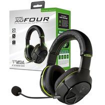 Headset Turtle Beach Xo Four Ear Force Xbox One + Adaptador
