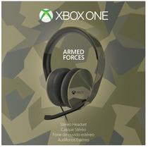 Novo Lacrado Headset Stereo Armed Forces Para Xbox One