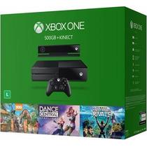 Xbox One 500gb + Kinect + 3 Jogos Original Microsoft E-sedex