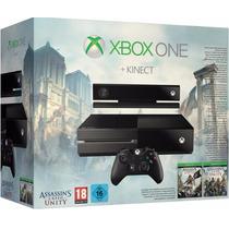 Xbox One + Kinect + 500gb Com Jogo Assassins Creed