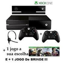 Xbox One 500gb+kinect+1jogo+2controle+12xs/juros+fretegratis