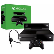 Xbox One 500gb + Kinect + Headset Original Microsof