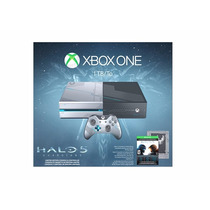 Console Xbox One 1tb Ed Especial Halo 5 Guardians - Loja !!