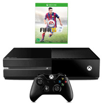 Console Xbox One + Jogo Futebol + 500gb Bluray Xone Novo