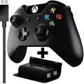 Controle Xbox One Sem Fio Original+ Bateria Cabo Usb Recarga