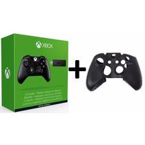 Controle Xbox One Entrada P2 + Case + Adaptador Sem Fio Pc