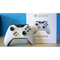 Controle Turbo Rapid Fire - Lunar White -30 Modos Xbox One