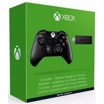 Controle Xbox One Entrada P2 + Adaptador Sem Fio Pc