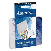 Promoção: Estojo Aquarela Aquafine Daler Rowney - 10 Cores
