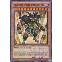 Exodia Exodius Ultimate Forbiden Lord Bp02-en063 Mosaic Rare