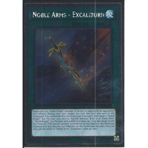 Yugioh Nkrt-pt023 Armas Nobres - Excaliburn - Platinum Rare