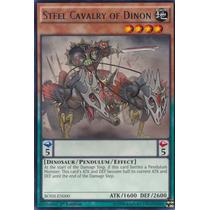 Yugioh- Carta Cavalaria De Aço De Dinon Bosh-pt000 Rara