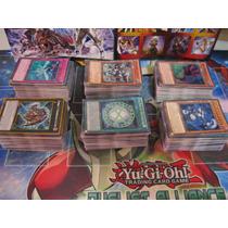 Lote De 100 Cartas De Yu-gi-oh! Originais