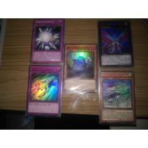 Lote Yugioh! 10 Cards Raro +10 Foil + 100 Aleatorio Total120