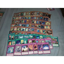 Cards Yugioh - Lote Contendo 100 Cartas De Yu-gi-oh!