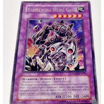 Card Yugioh Secret Rara Original Elemental Hero Gaia Anpr099