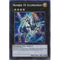 ºº Number 10: Illumiknight - Ct08-en004 - Secret Rare Yugioh