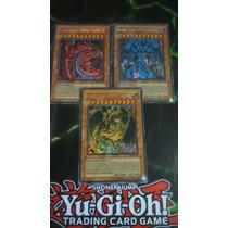 Bestas Sagradas Uria, Hamon E Raviel - Secret Raro - Yugioh!