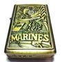 Isqueiro De Fluido Coleção Guerra Modelo Marines