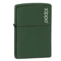 Isqueiro Zippo - Logo Verde Fosco 221zl