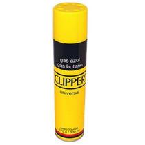 Gas Butano Refil Isqueiro Clipper C/ 5 Adaptadores 300ml