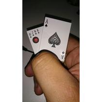 Isqueiro Usb Ecológico, Luxo Cartas, Poker.