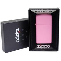 Isqueiro Zippo 1638 Slim Pink Matte