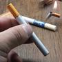 Isqueiro Recarregável Em Formato De Cigrro
