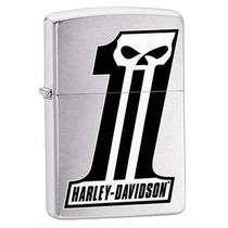 Isqueiro Zippo Harley Davidson #1 Moto Club Rock Bar Dj Pub