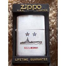 Zippo - Uss Midway - Peça De Colecionador - Raríssimo !!!