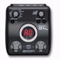 G1u Pedaleira Zoom G1 Usb Para Guitarra + Fonte G1u