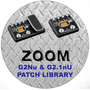 Zoom G2nu & G2.1nu Patch Library Cd