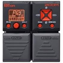 Pedaleira Baixo Zoom B1on +100 Efeitos Zoom B1 On + Fonte