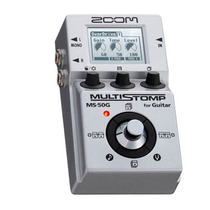 Zoom Ms-50g: Pedaleira P/ Guitarra