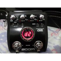 Pedaleira Multiefeitos Zoom G2